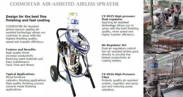 Air Assisted Airless Sprayer